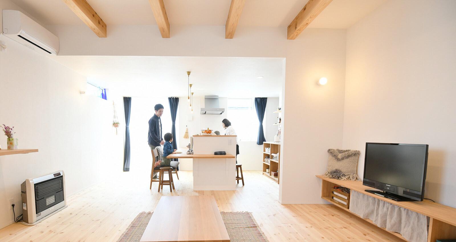 私らしい、楽しい。シンプルな家づくり。|八戸市の工務店新築注文住宅のグリーンホームズ