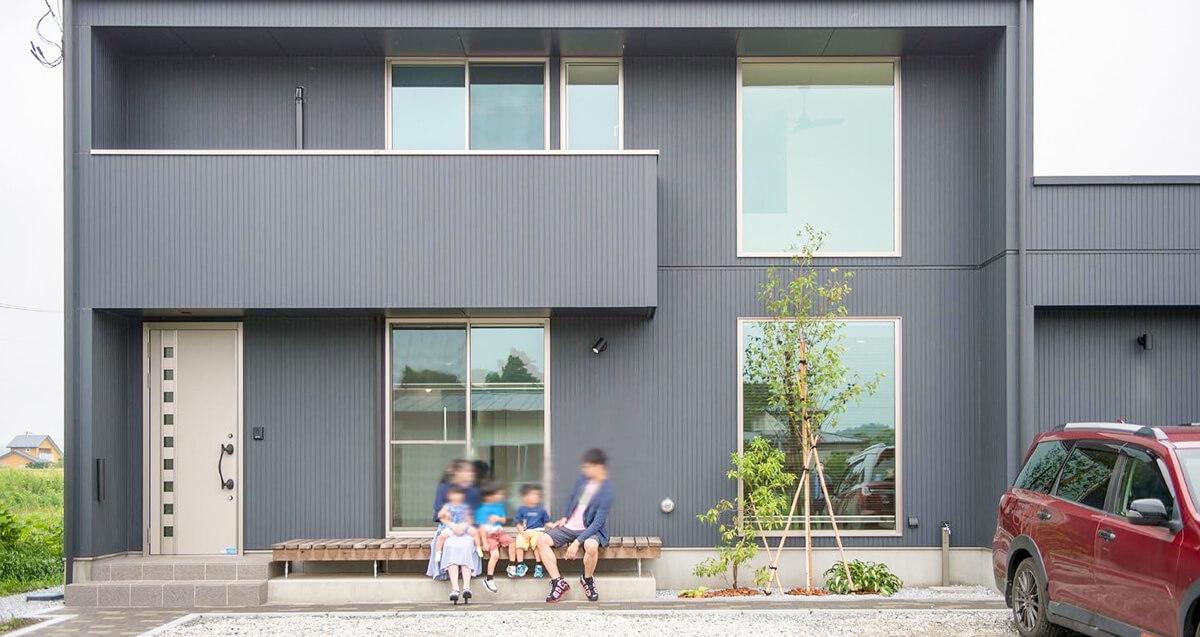LifeBox(ライフボックス)外観|八戸市の工務店新築注文住宅のグリーンホームズ
