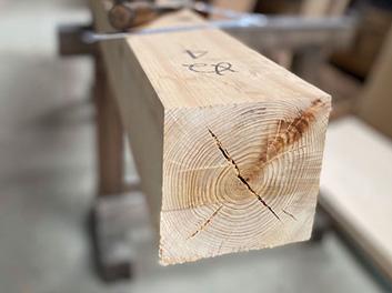 【建造材】杉(柱)・檜(土台)