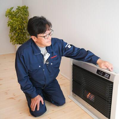 GREEN HOMESで働く仲間たち|燃焼機器整備・営業 亀井 伸広