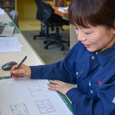 GREEN HOMESで働く仲間たち|設計 堤 ふみ子