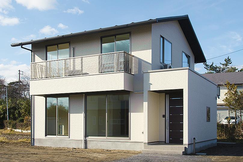 コンパクトなのに開放的なお家 | 八戸の新築 グリーンホームズ