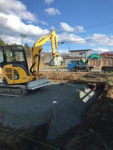新築住宅 基礎工事 |八戸の新築グリーンホームズ