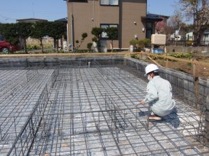 階上町 新築住宅 配筋検査 | 八戸の新築 グリーンホームズ