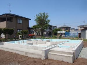 基礎工事 完成 | 八戸の新築 工務店 グリーンホームズ