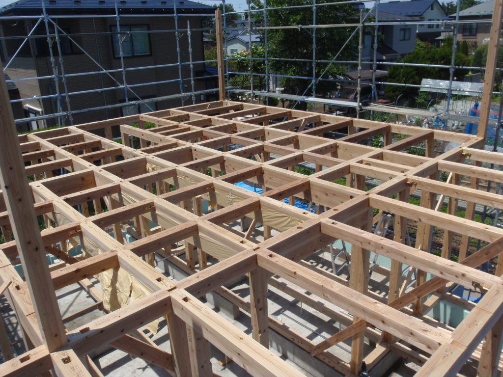 階上町 上棟式 | 八戸の新築 グリーンホームズ