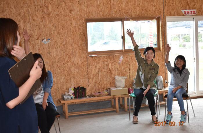 親子でストレッチ②|八戸市 新築