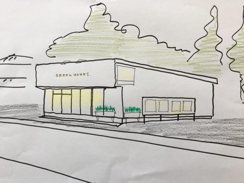 グリーンホームズ 新店舗|八戸市 新築