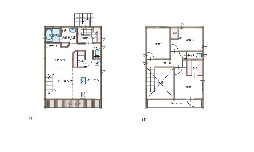 K様邸 間取り|八戸市 新築住宅