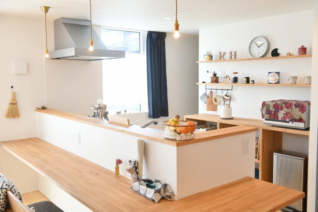 八戸市新築住宅のキッチン 八戸市 平屋