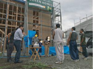 八戸市 上棟式|八戸 新築住宅