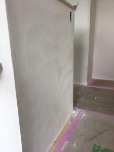 珪藻土の塗り壁|八戸市 新築住宅
