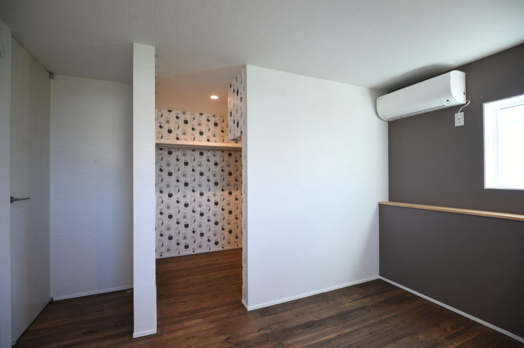 おしゃれな寝室|八戸市 注文住宅