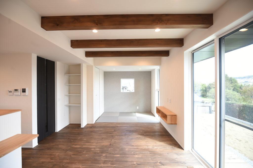 新築住宅 リビング|八戸市 工務店