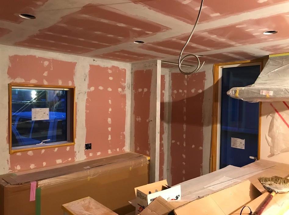 八戸市桜ヶ丘の新築住宅内部工事の写真|八戸市 工務店
