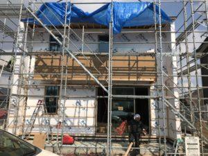 八戸市K様邸新築住宅の外観|八戸市 工務店