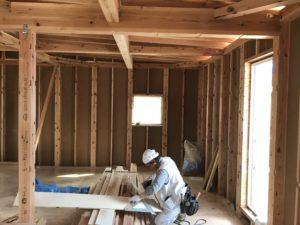 八戸市K様邸の新築住宅内部工事|八戸市 注文住宅