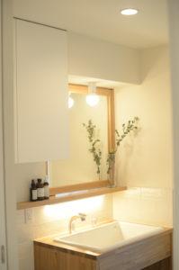 おいらせモデル洗面所|八戸市 注文住宅