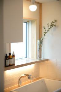 おいらせモデル洗面所|八戸市 工務店