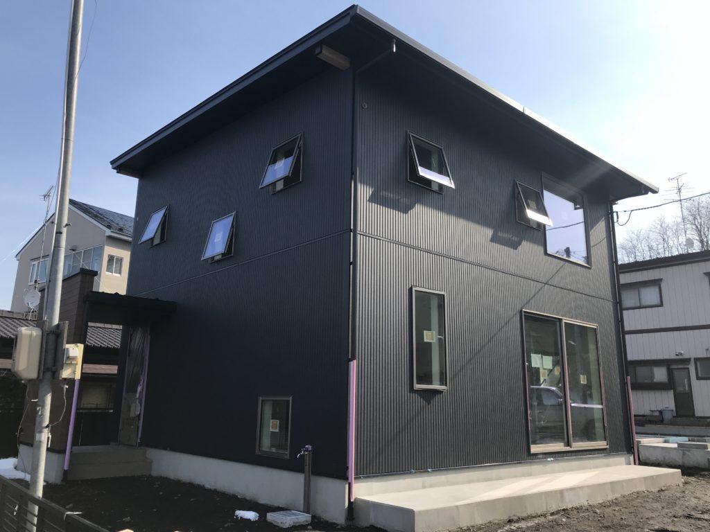 八戸市新築住宅の外観|八戸市 注文住宅