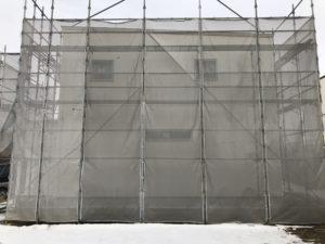 八戸市南白山台新築住宅の外壁|八戸市 新築住宅