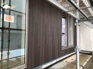 八戸市新築住宅外壁貼り分け|八戸市 注文住宅