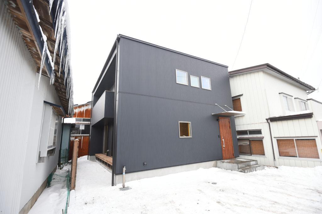 長坂邸の外観写真|八戸市 新築住宅