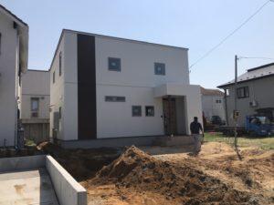 八戸市南白山台の新築住宅の外構工事|八戸市 工務店