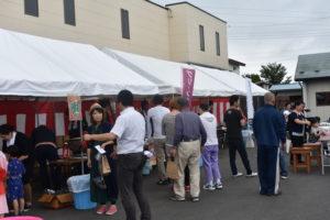 夏祭り沢山の人|八戸市 新築住宅
