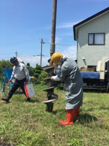 地盤改良工事|八戸市 注文住宅