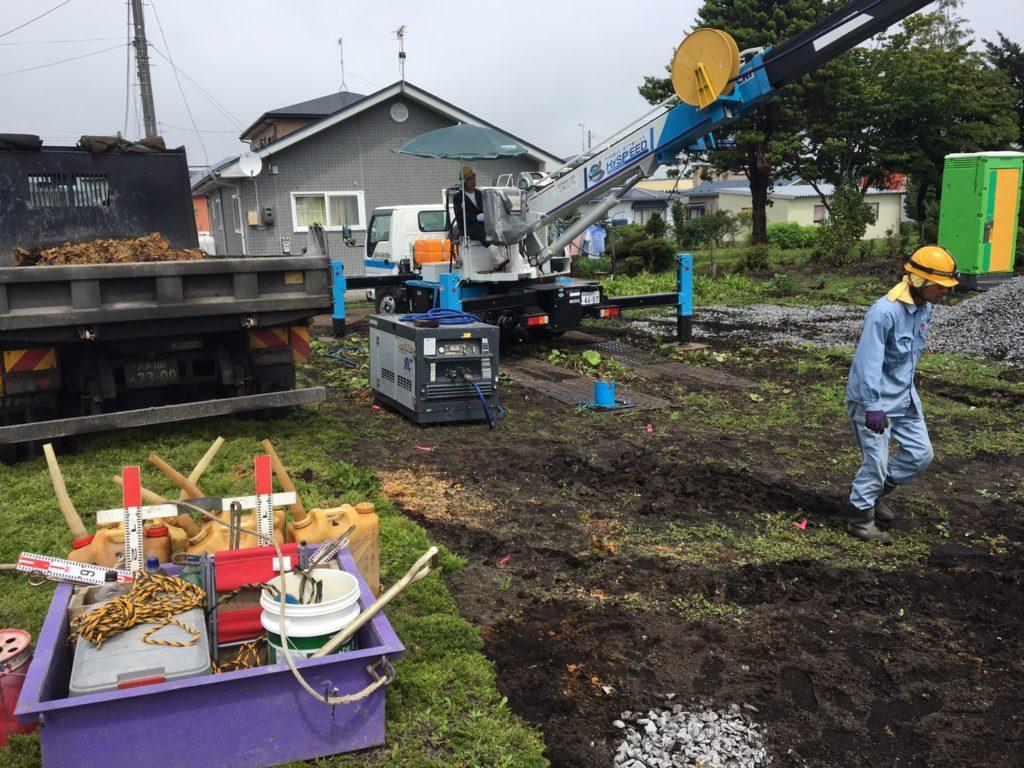 地盤改良工事|八戸市 工務店