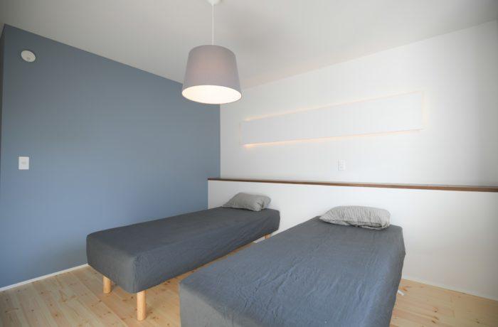 リノベーション 寝室とクローゼット|八戸市 リノベーションモデルハウス