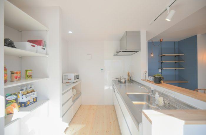 リノベーションモデルハウス キッチン|八戸市 工務店