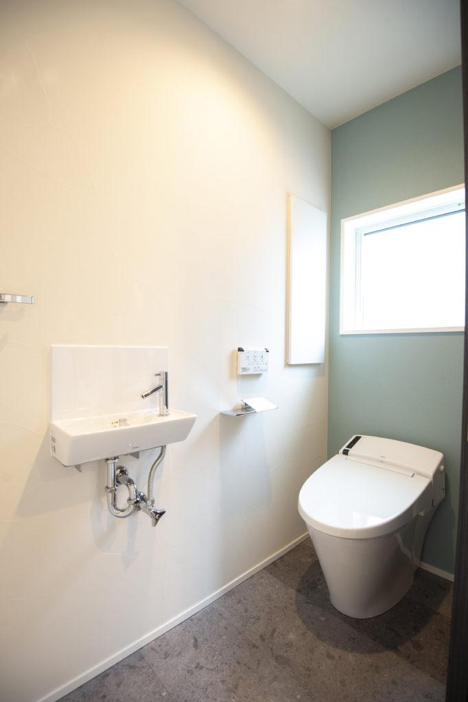 新築住宅トイレ|八戸市 工務店