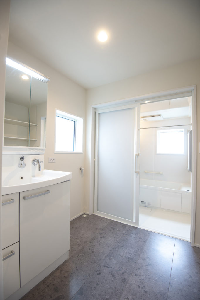 八戸市新築住宅の洗面所|八戸市 工務店