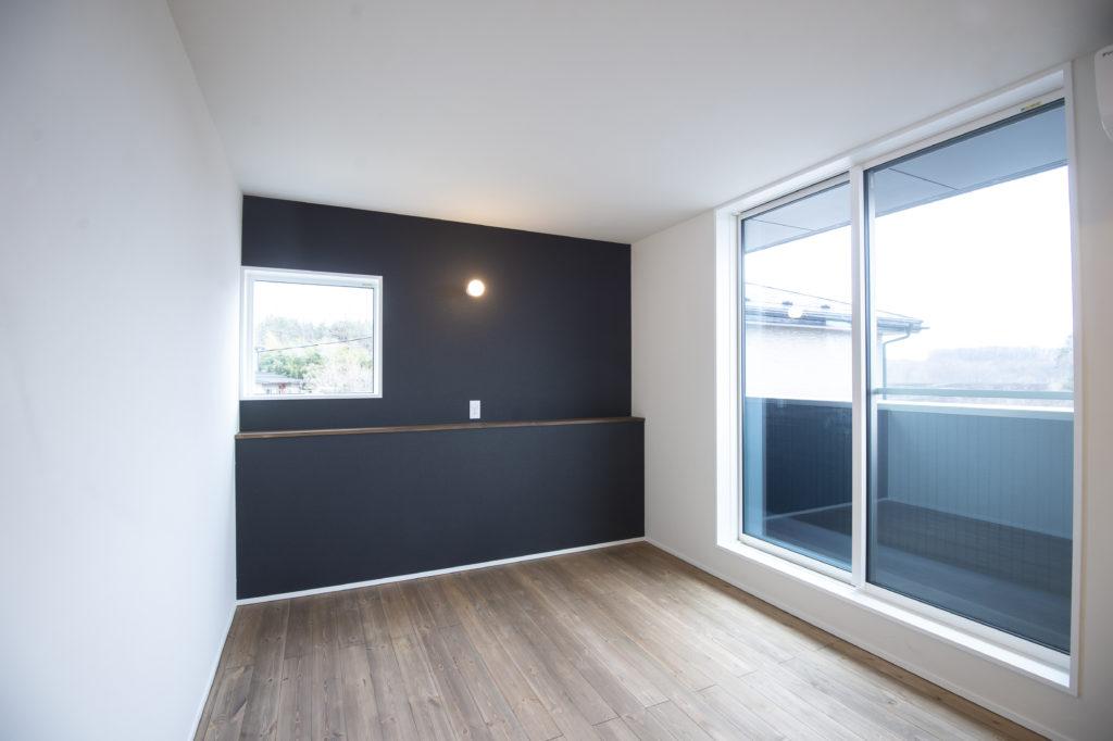 おしゃれな新築住宅の寝室|八戸市 工務店