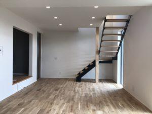 新築住宅のリビング|八戸市 工務店