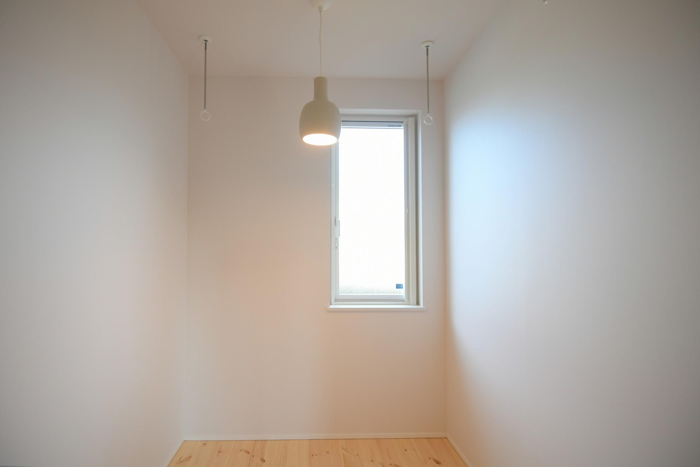物干しスペース リノベーションモデルハウス|八戸市 工務店