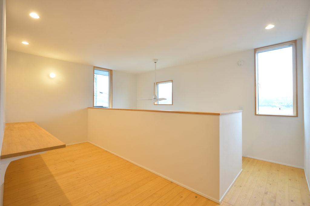 2階の物干しスペース|八戸市 工務店