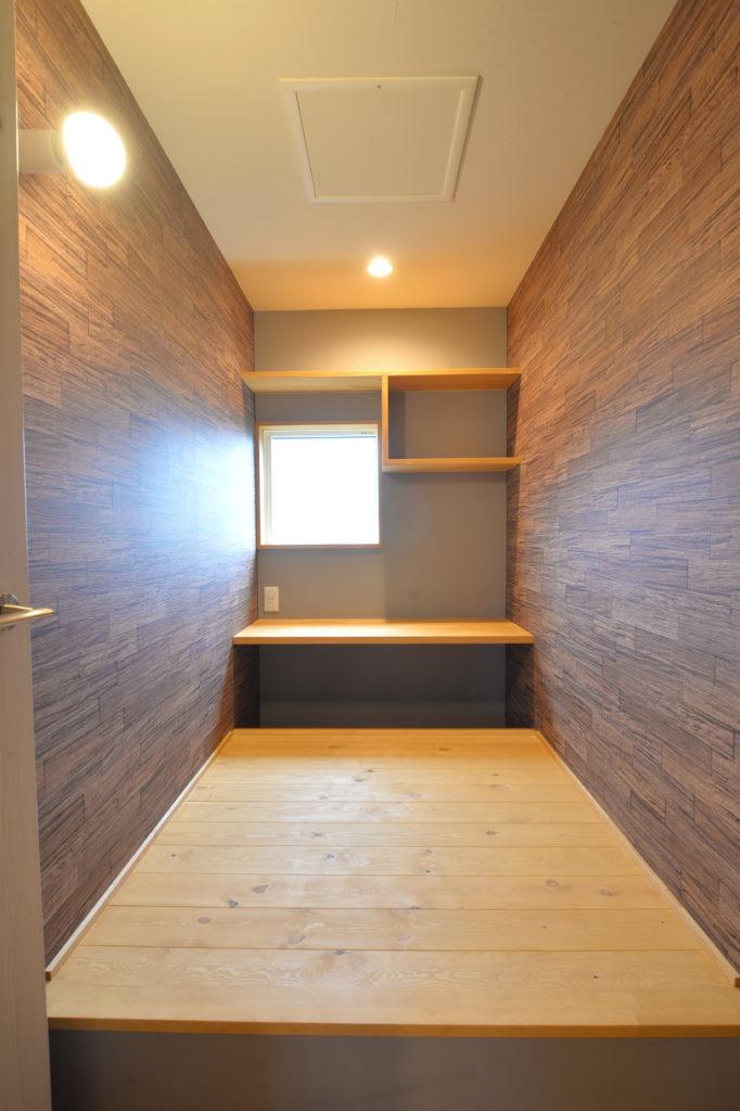 自分だけの空間の書斎|八戸市 工務店