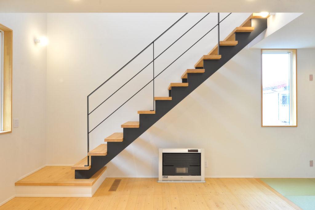 リビング階段|八戸市 工務店
