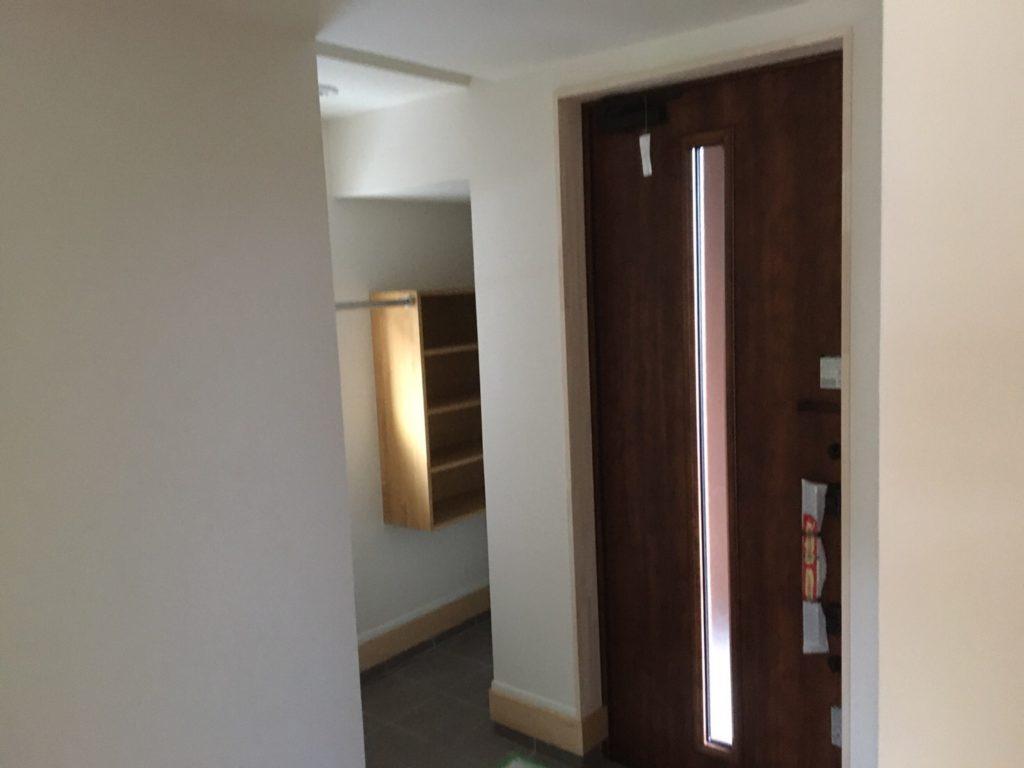 八戸市 新築住宅玄関|八戸市 工務店