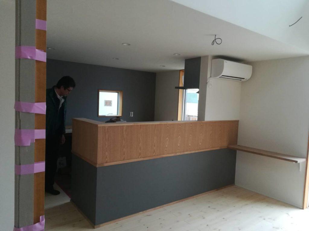 おしゃれなキッチン|八戸市 工務店