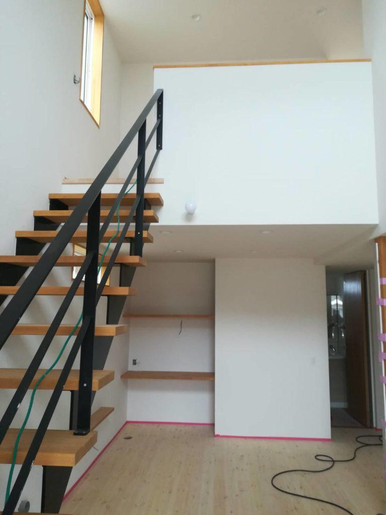 リビング階段|八戸市 注文住宅