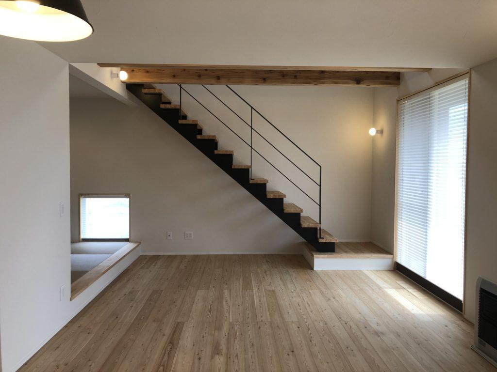 新築住宅のこだわりのリビング|八戸市 工務店