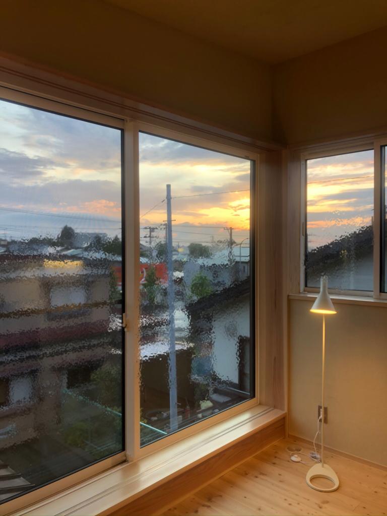 窓から見える絶景|八戸市 工務店