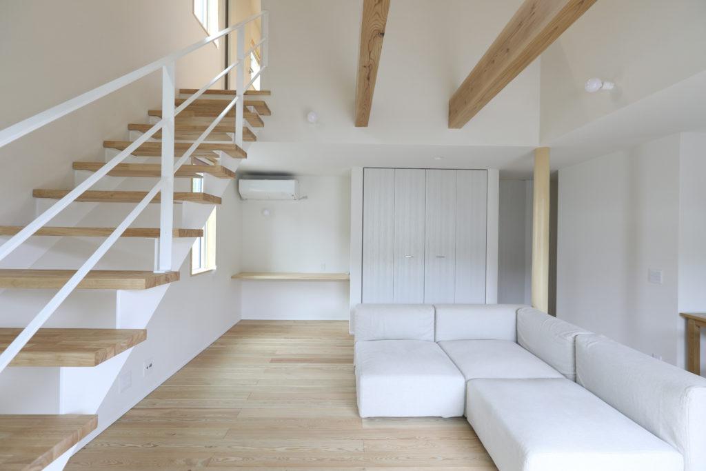 リビング収納のある新築注文住宅|八戸市 工務店