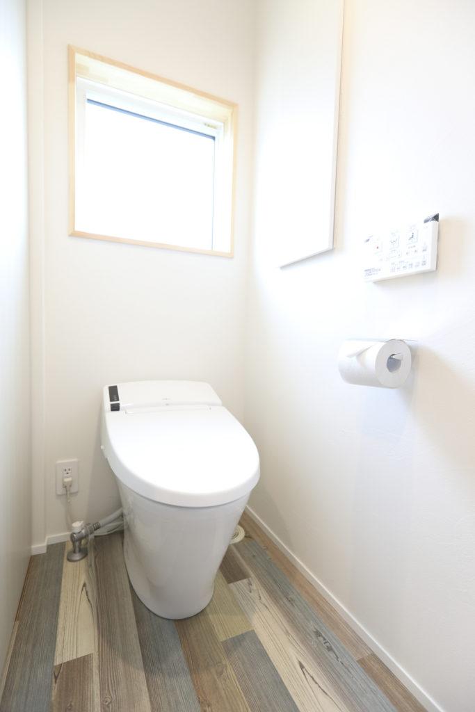 新築住宅おしゃれなトイレ空間|八戸市 注文住宅