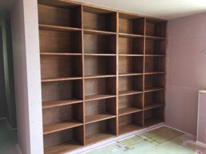 寝室の本棚|八戸市 新築住宅