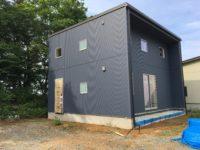 外壁と新築住宅 八戸市 工務店